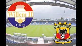 Video Gol Pertandingan Willem II vs Go Ahead Eagles