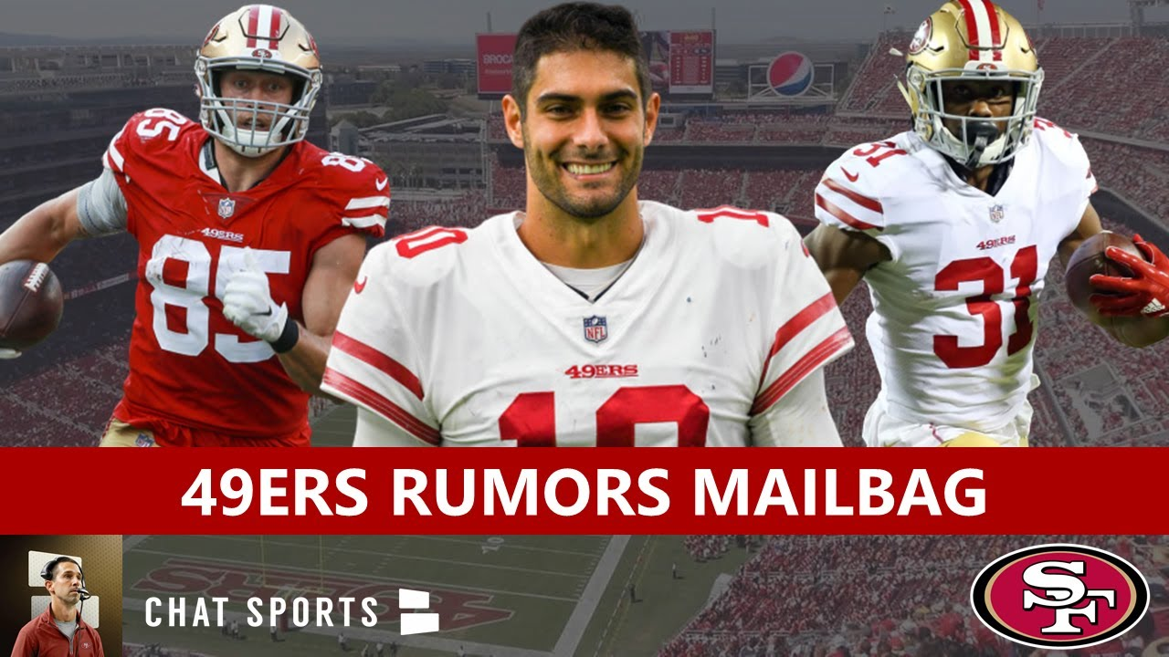 49ers Rumors Mailbag: Raheem Mostert Contract Extension? George Kittle Trade? Jimmy G Super Bowl?
