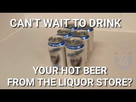 Ice cold beer in 5 minutes!