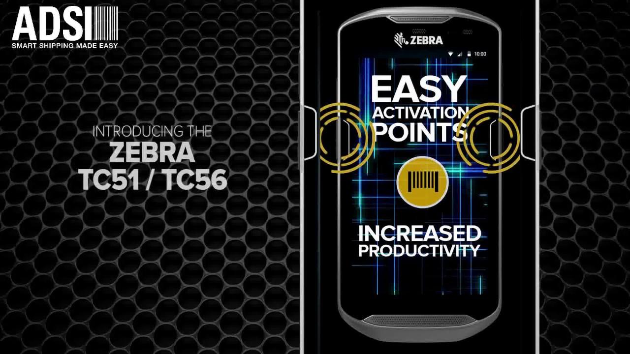 The Zebra TC51/TC56 Touch Computer
