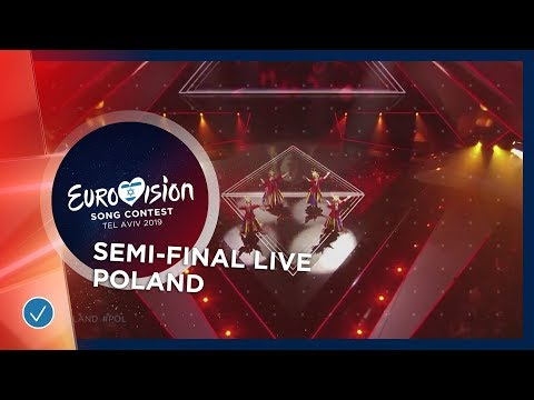 Poland - LIVE - Tulia - Fire Of Love (Pali się) - First Semi-Final - Eurovision 2019