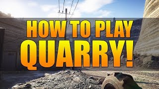 How To Play Quarry: Ghost War Map Breakdown Tips & Tricks | Gaining Map Control To WIN!