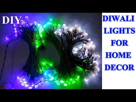 How to make decoration light || Diwali fancy light || made in Indialight
