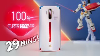 Fastest Charging Smartphone EVER! (Gundam Edition!)