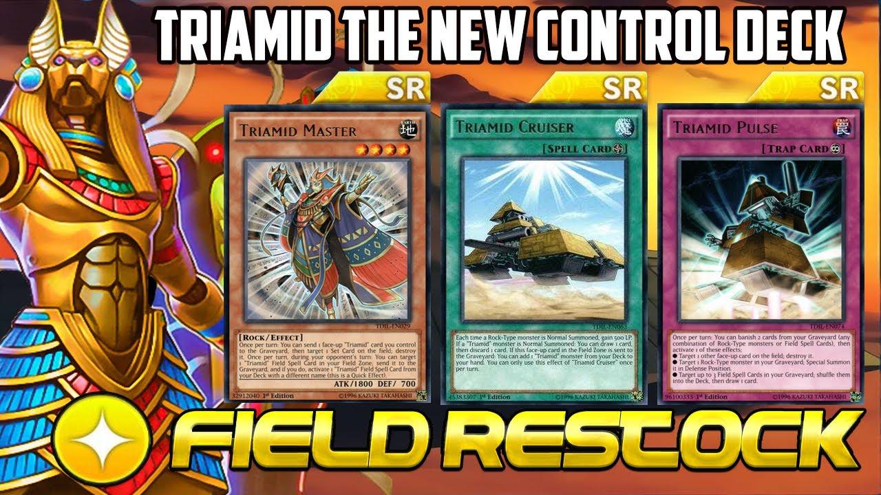 Triamid Control !! , Easy Destroy & Anti Battle Effect | Guardians of Rock  [ Yu-Gi-Oh! DUEL LINKS ]
