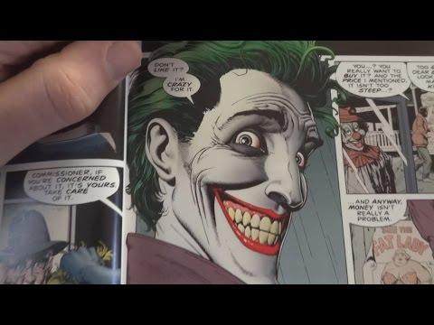 ASMR Reading Batman: The Killing Joke (Part 1)