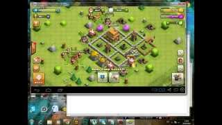 Clash of clans На компьютер(Вот ссылка на программу http://droidtune.com/1013/bluestacks-app-player-zapusk-vashix-android-prilozhenij-na-pc.html И на игру ..., 2014-04-28T07:13:26.000Z)