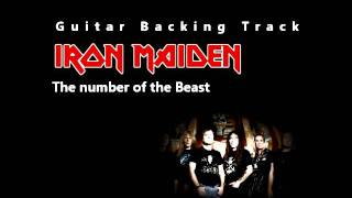 Iron Maiden - The number of the Beast (Guitar - Backing Track) w/ Vocals