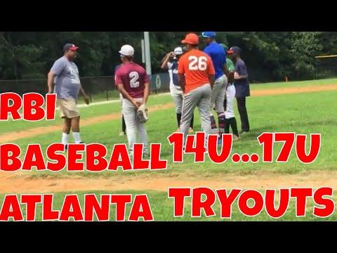 Travel Baseball Tryout RBI Atlanta14u 17u