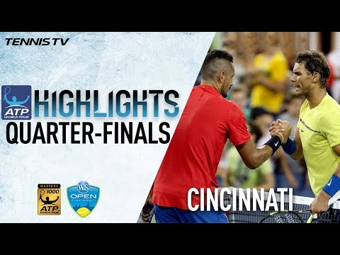 Highlights: Kyrgios, Ferrer Stun Top Seeds Cincinnati 2017