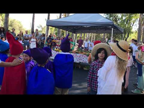 Michaelmas Festival song of courage and strength 9-29-17 at Sanderling Waldorf School