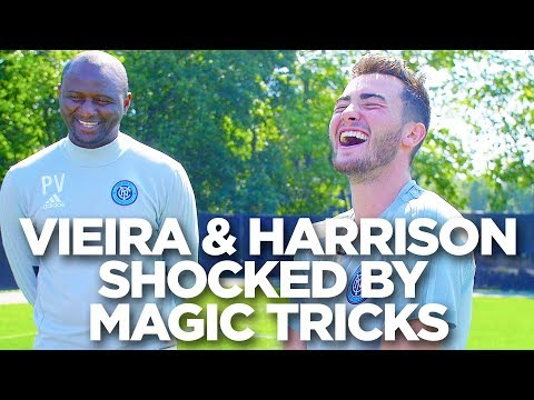 NYCFC Camper Shocks Jack Harrison and Patrick Vieira with Magic Trick!