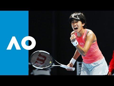 Dominika Cibulkova V Shuai Zhang Match Highlights (1R)   Australian Open 2019