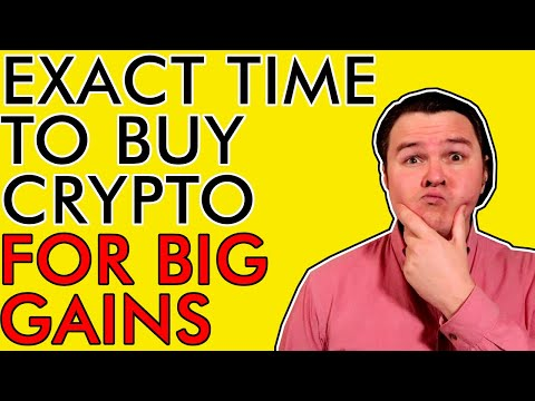 WHEN EXACTLY TO BUY BITCOIN & CRYPTOCURRENCY FOR SICK GAINS EXPLAINED
