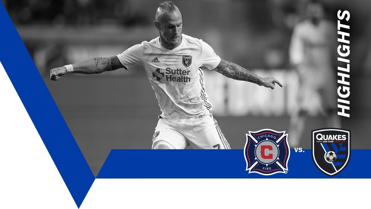 free shipping d6179 eb7df HIGHLIGHTS: Chicago Fire vs. San Jose Earthquakes | June 2, 2018