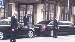 プーチン大統領の、ガード体制が「おそロシア」な件 (((((((((((( thumbnail