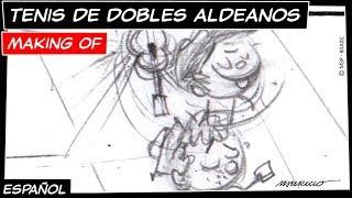 Mónica Toy - Making of | ¡Tenis de dobles aldeanos! (T04E01)