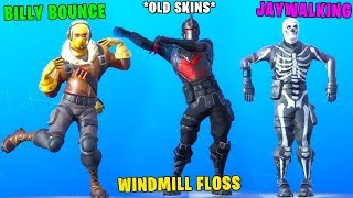 New Dances But With Old Skins.! - Fortnite Battle Royale!