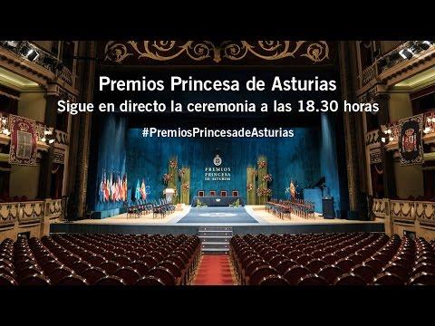 Ceremonia íntegra de entrega de los Premios Princesa de Asturias 2016