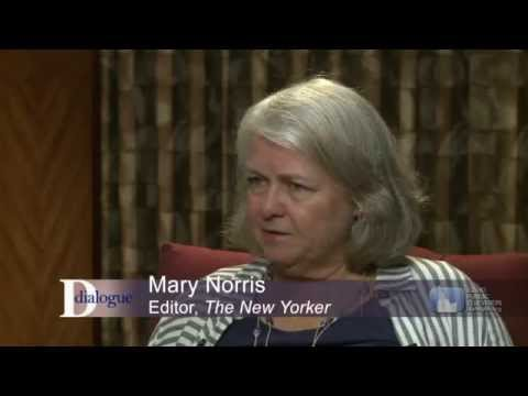 "Dialogue: ""Comma Queen"" Mary Norris"
