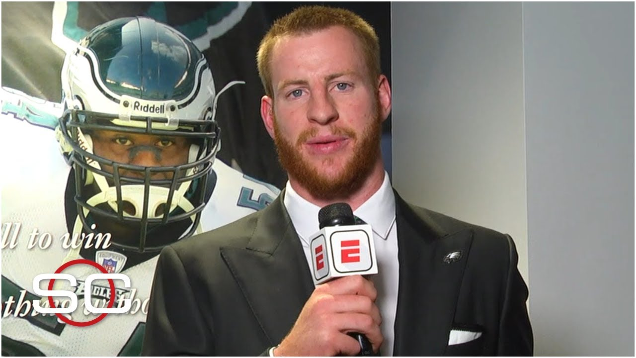 e6019780f7e Carson Wentz and the Eagles both wanted a deal done quickly | SportsCenter