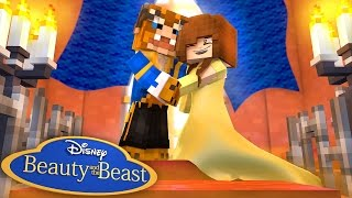 BEAUTY AND THE BEAST #4 (The Musical) w/Little Carly (Minecraft Roleplay)