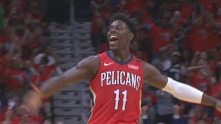 Pelicans Sweep Blazers! Holiday, Davis Combine 88 Pts! 2018 NBA Playoffs