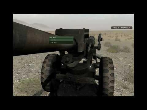 ARMA 2 OA: ACE 2 Artillery Demonstration