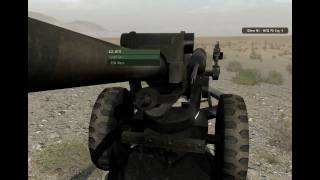 ARMA 2 OA: ACE 2 Artillery Demonstration