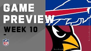 <b>Buffalo Bills</b> vs. Arizona Cardinals | NFL Week 10 Game Preview ...