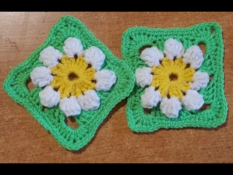 Piastrella all 39 uncinetto primavera tutorial granny for 100 piastrelle all uncinetto
