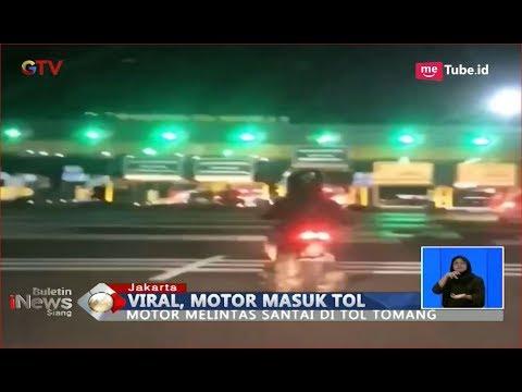 VIRAL! Motor Nekat Masuk Tol Bogor Dan Tomang - BIS 17/09