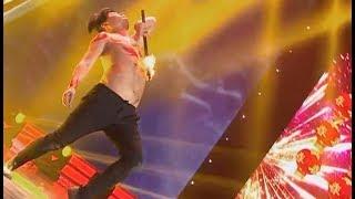 Stunt: fire dance   CCTV English