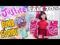 SHOPPING DI JUSTICE INDONESIA SALE 70 % JADI  MURAH LHO  NICOLE ANNABELLE