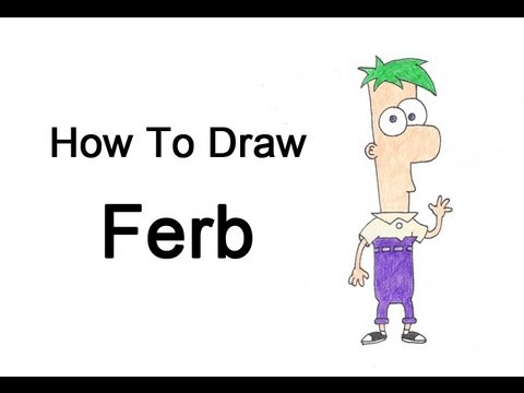 How To Draw Ferb How to Draw Fer...
