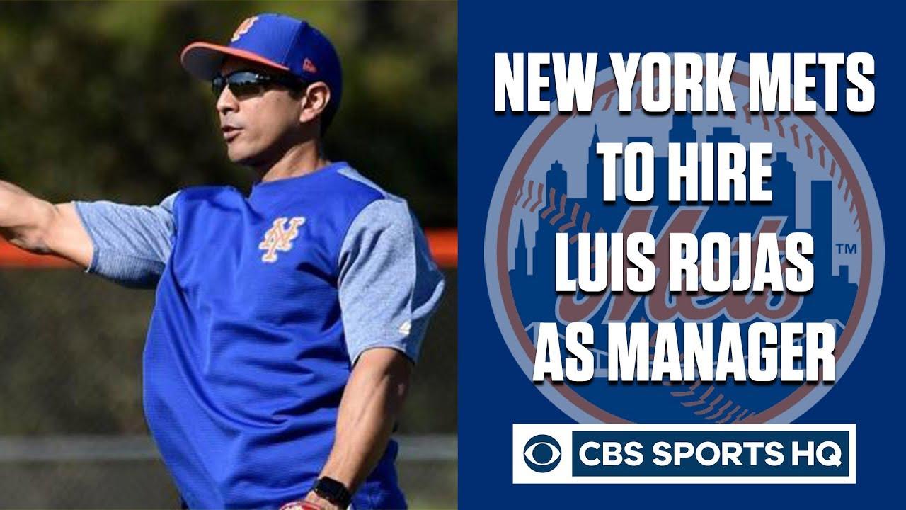 Mets hiring Luis Rojas as manager