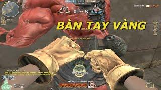 Bình Luận CF : Gold Fist, M4A1 S DMZ Ultimate Gold - Tiến Xinh Trai Zombie V4