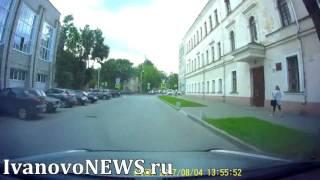 В Иванове байкер улизнул от экипажа ДПС