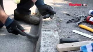 Fischer expresní CEM-TMEL pro opravy betonu, zdiva a kamene
