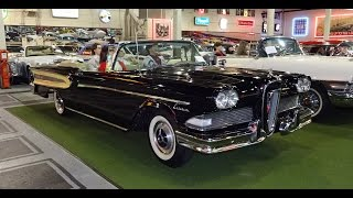 1958 Ford Edsel Citation Convertible at The Klairmont Kollections on My Car Story with Lou Costabile