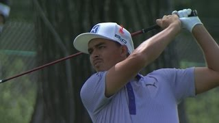 Rickie Fowler featured in LIVE@ BMW highlights from Round 2