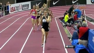 Mary Cain Wins Us Women's 1 Mile Indoor Title   Universal Sports