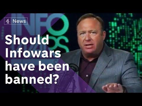 Infowars debate: Should it have been banned?
