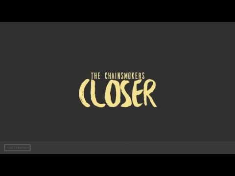 Closer - The Chainsmokers | Lyrical Kinetic Typography