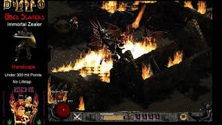 Lowest Life Ever Uber Tristram? 277 HP Paladin Run Diablo 2