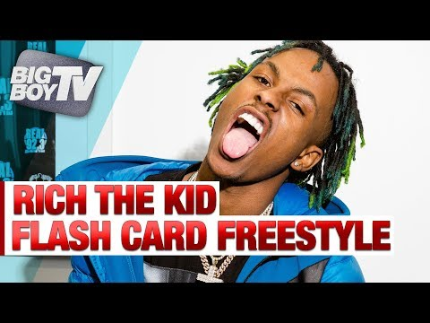 Watch Rich The Kid Freestyle Using Flash Cards - Rich The Kid - mp4-download
