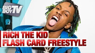 Rich The Kid & Big Boy Go Back And Forth in Flash Card Freestyle