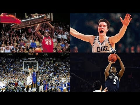 Clutch Shots of March Madness (1978-2018)