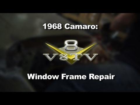 1968 Camaro Roof and Window Rust Repairs Video V8TV