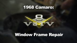 1968 Camaro Roof and Window Rust Repairs Video V8TV